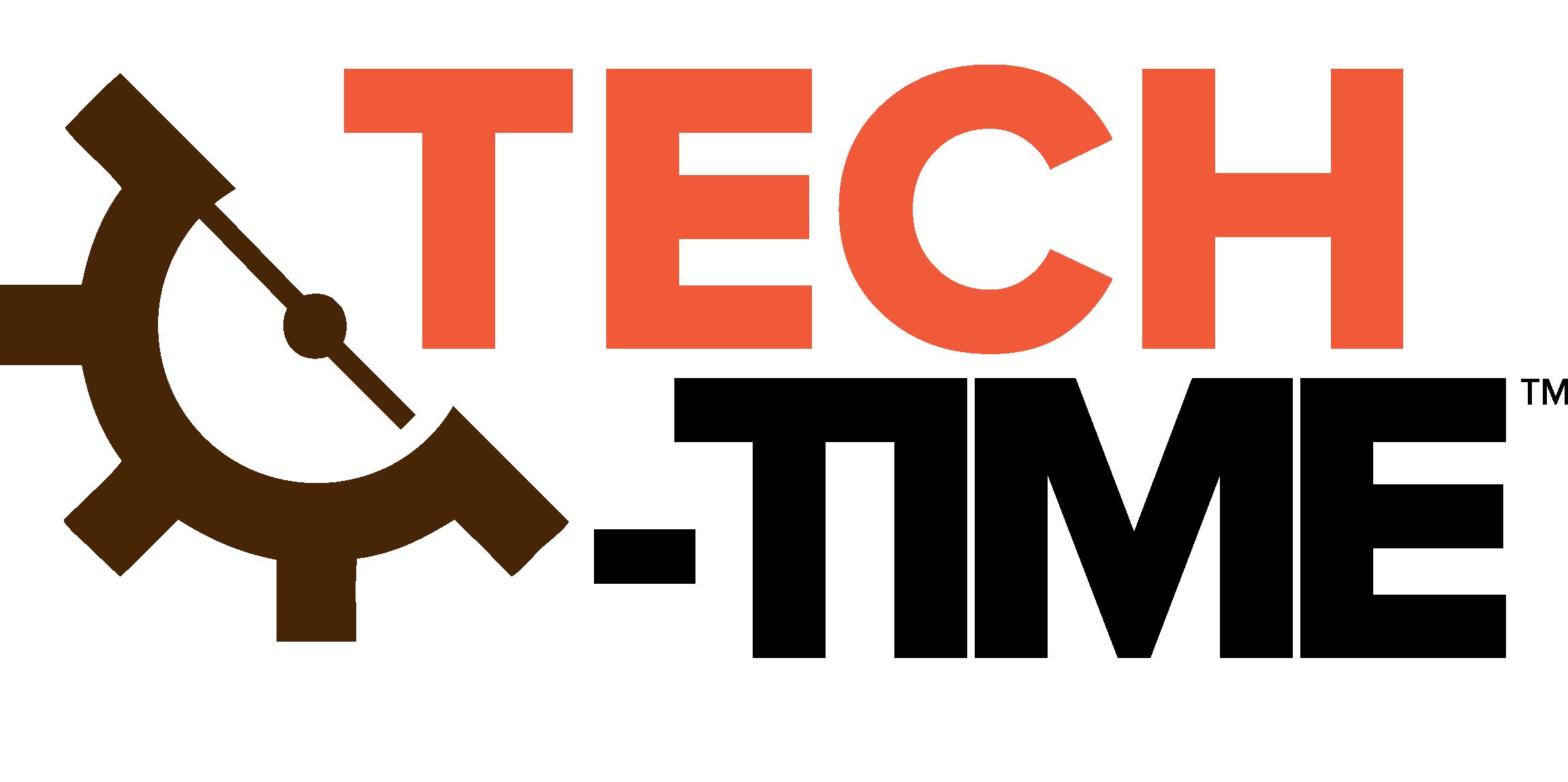 tech-time logo | Bootstrap Bootcamp